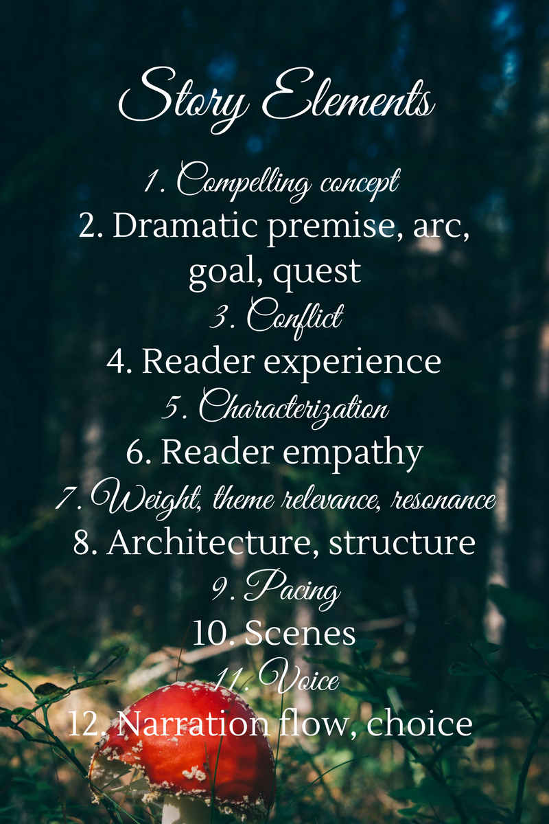 Twelve Elements of a Story
